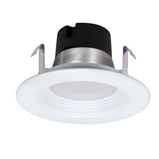 "Satco 9.5W LED 4"" Downlight Retrofit - 4000K - 120V - Dimmable"