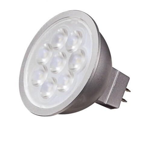 Satco 6.5W LED MR16 - 40' Beam Spread - GU5.3 Base - 3000K - 12V