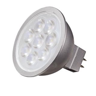 Satco 6.5W LED MR16 - 40' Beam Spread - GU5.3 Base - 3000K - 12V
