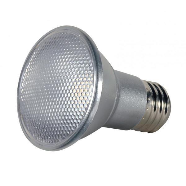 Satco 7W PAR20 LED - 40' Beam Spread - Medium Base - 2700K - 120V