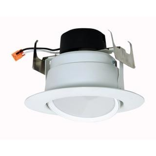 "Satco 9W 5"" - 6"" Gimbaled - Directional LED Downlight Retrofit - 90' Beam Spread - 4000K - 120V - Dimmable"