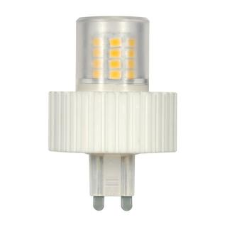 Satco 5W LED T4 Replacemnet Bulb - G9 Base - 360' Beam Spread - 5000K - 120V - Dimmable