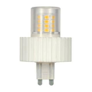 Satco 5W LED T4 Replacemnet Bulb - G9 Base - 360' Beam Spread - 3000K - 120V - Dimmable