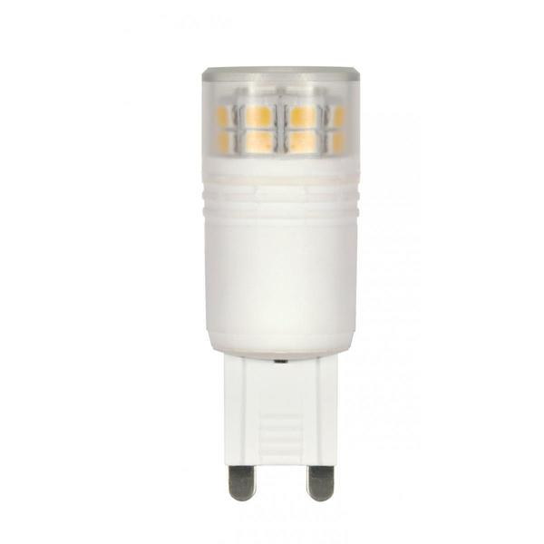 Satco 3W LED T4 Replacemnet Bulb - G9 Base - 360' Beam Spread - 3000K - 120V