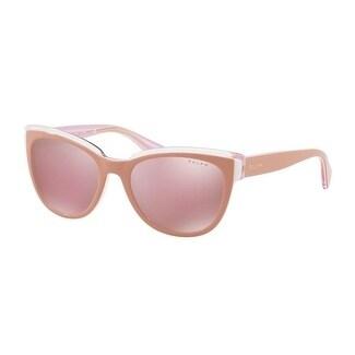 RALPH Ralph Damen Sonnenbrille » RA5230«, rosa, 16501T - rosa/ gold