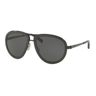 Ralph Lauren Unisex RL7053 933287 59 Dark Grey Metal Aviator Sunglasses