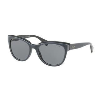 Ralph Women's RA5230 164987 53 Grey Plastic Cat Eye Sunglasses