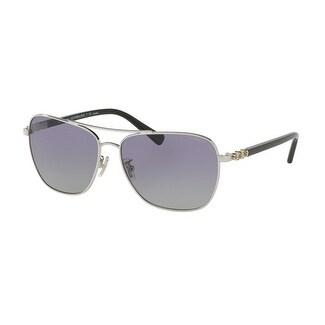 57ad5d559eeba Shop Coach Women s HC7073B 90158J 59 Purplegradient Polar Plastic Aviator  Sunglasses - Purple - Free Shipping Today - Overstock - 17850455