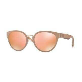 e0ead646801c Shop Burberry Women s BE4249 32817J 53 Beige Plastic Cat Eye Sunglasses -  Rose - Free Shipping Today - Overstock - 17850474