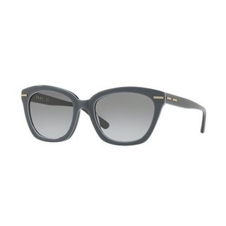 Donna Karan New York Women's DY4142 372211 53 Grey Gradient Plastic Square Sunglasses