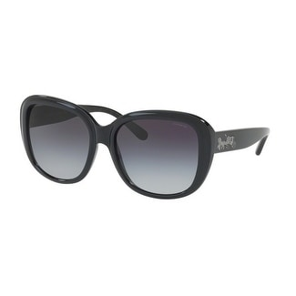 aee0ee0617 Shop Coach Women s HC8207F 542011 57 Grey Gradient Plastic Square Sunglasses  - Free Shipping Today - Overstock.com - 17850525