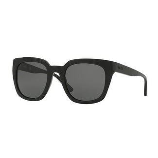 Donna Karan New York Women's DY4144 368887 52 Dark Grey Solid Plastic Square Sunglasses