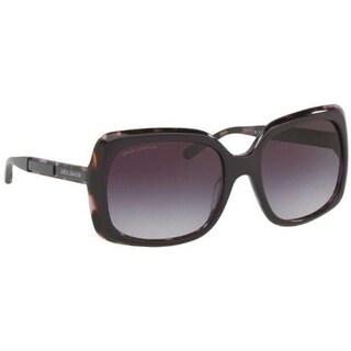 Michael Kors Women's MK2049F 325636 56 Grey Rose Gradient Plastic Square Sunglasses