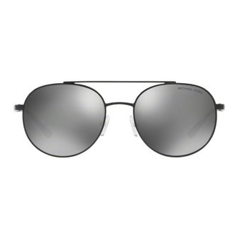 3115d854ceb Michael Kors Women  x27 s MK1021 11696G 53 Gunmetal Mirror Metal Aviator  Sunglasses -