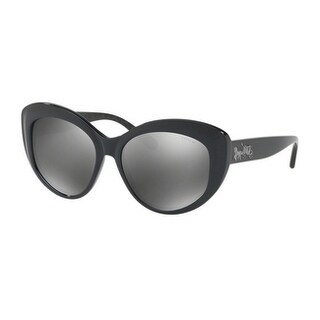 Coach Women's HC8206F 54206G 55 Gunmetal Mirror Plastic Cat Eye Sunglasses - Bronze