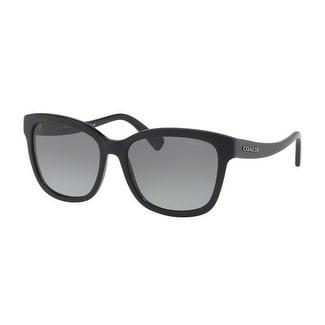 08f8d4b56f1 Coach Women  x27 s HC8219F 500211 56 Grey Gradient Plastic Square Sunglasses