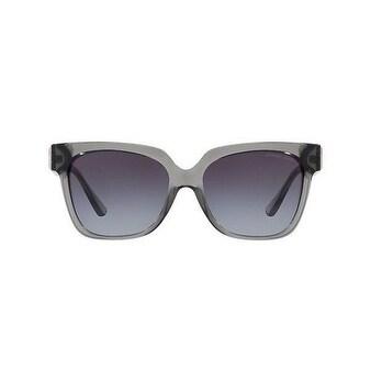 6f3c422c3854 Shop Michael Kors Women's MK2054 329911 55 Grey Gradient Plastic Square  Sunglasses - Free Shipping Today - Overstock - 17850762