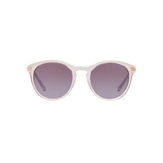 171ee9268e Shop Michael Kors Women s MK2023 33038H 53 Violet Gradient Metal Round  Sunglasses - Free Shipping Today - Overstock.com - 17850781