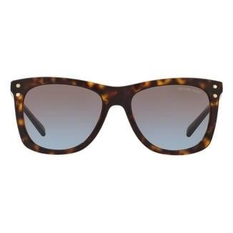 ad7426d7b90 Michael Kors Women  x27 s MK2046 310613 54 Brown Gradient Metal Square  Sunglasses