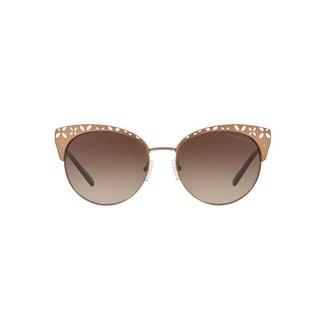 1e8cba4e87 Shop Michael Kors Women s MK1023 119013 56 Grey Gradient Metal Square  Sunglasses - Free Shipping Today - Overstock - 17850835