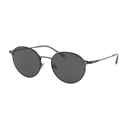 e46003df26 Shop Polo Women s PH3109 926787 53 Grey Metal Oval Sunglasses - Free  Shipping Today - Overstock.com - 17850962