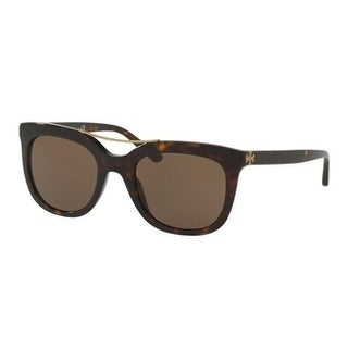 Tory Burch TY7105 Womens Tortoise Frame Brown Lens Square Sunglasses