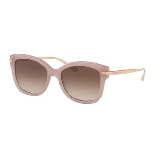 Michael Kors Women's MK2047 324613 53 Grey Gradient Metal Square Sunglasses