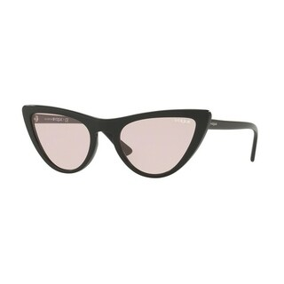 Vogue Women's VO5211S W44/5 54 Pink Plastic Cat Eye Sunglasses