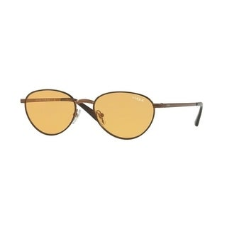 Vogue Women's VO4082S 5074/7 53 Orange Metal Oval Sunglasses|https://ak1.ostkcdn.com/images/products/17851104/P24040047.jpg?_ostk_perf_=percv&impolicy=medium