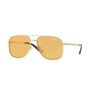 Vogue Women's VO4083S 280/7 55 Orange Metal Rectangle Sunglasses