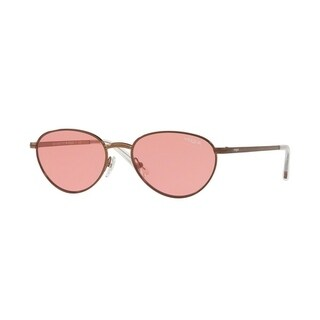 Vogue Women's VO4082S 507484 53 Pink Metal Oval Sunglasses