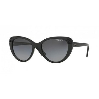 98f248dbe6 Shop Vogue Women s VO5050S W44 T3 54 Polar Grey Gradient Plastic Cat Eye  Sunglasses - Free Shipping Today - Overstock.com - 17851177