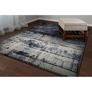 Couristan Easton Abstract Mosaic/Slate Area Rug - 2' x 3'7