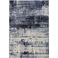 Couristan Easton Abstract Mosaic/Slate Area Rug