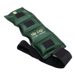 The Cuff® Original Ankle and Wrist Weight - 1.5 lb - Olive