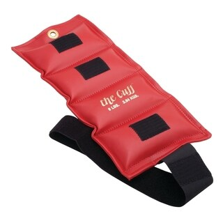 The Cuff® Original Ankle and Wrist Weight - 8 lb - Red