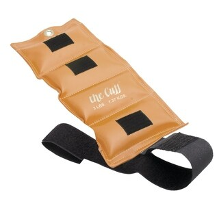 The Cuff® Original Ankle and Wrist Weight - 3 lb - Gold