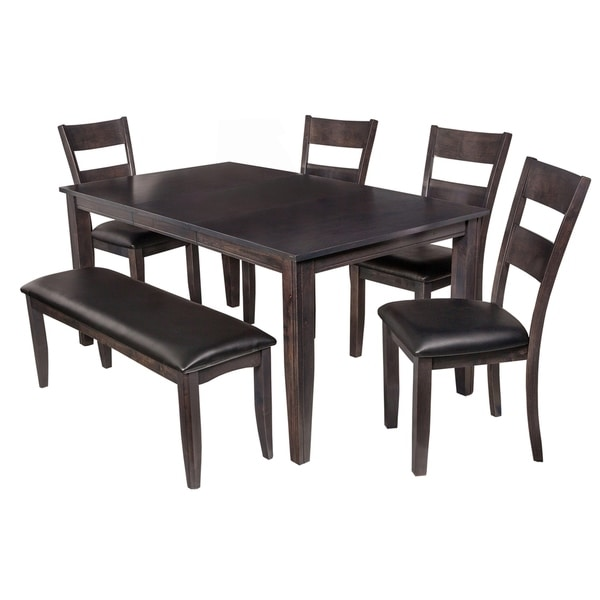 930f34a6a8 Shop 6-Piece Solid Wood Dining Set