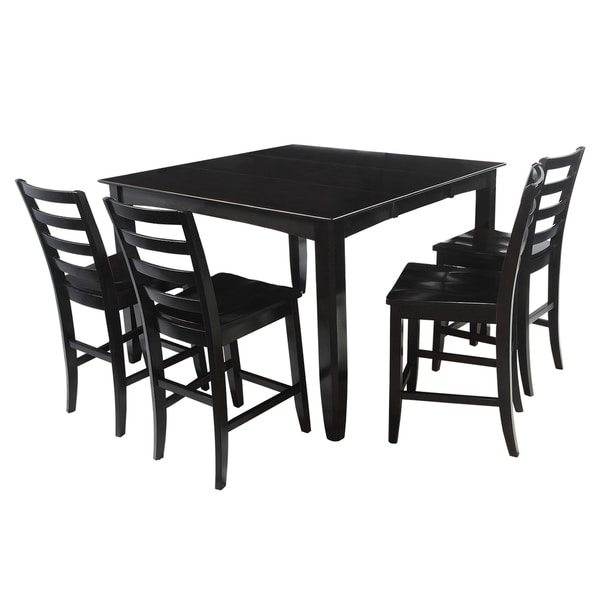 "Shop 5-Piece Solid Wood Counter Height Dining Set ""Ryley"
