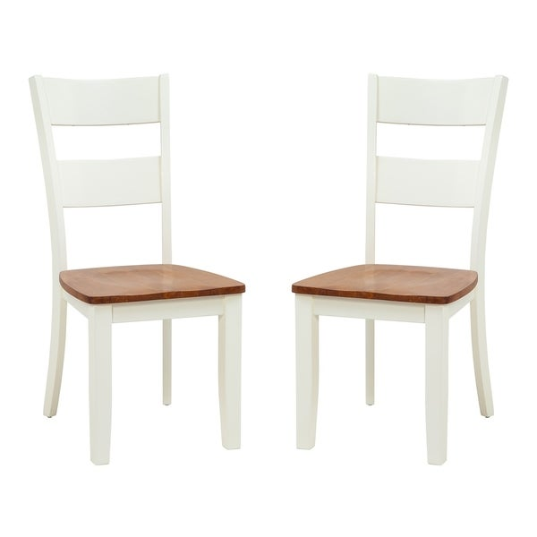 Kitchen Chairs White: Shop Solid Wood Sturdy Dining Chair / Modern Kitchen Chair