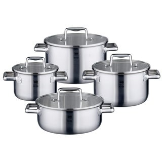 Elo Germany Premium Multilayer Stainless Steel Induction Cookware Set, 8 Piece