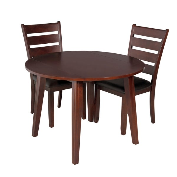 3-Piece Solid Wood Dining Set \