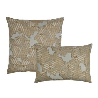 Sherry Kline Scale Gold Combo Decorative Pillows (Set of 2)