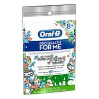 Oral-B Pro-Health For Me Dental Floss Picks Minty Breeze for Kids (Pack of 45)