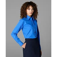 Twin Hill Womens Shirt Cobalt Cotton/Poly