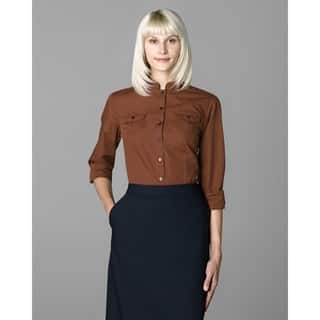 Twin Hill Womens Shirt Rust Cotton/Poly (Option: 14) https://ak1.ostkcdn.com/images/products/17853860/P24041888.jpg?impolicy=medium