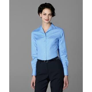 Twin Hill Womens Shirt Blue & Black Stripe Cotton/Poly (Option: 14) https://ak1.ostkcdn.com/images/products/17853862/P24041896.jpg?impolicy=medium