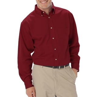 Twin Hill Mens Shirt Burgundy 100% Cotton