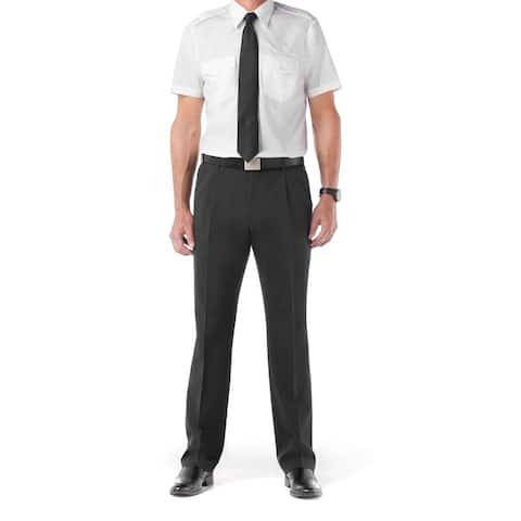Twin Hill Mens Shirt White Cotton/Poly