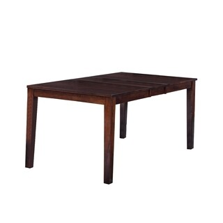 Boswell Solid Wood Dining Table In Espresso